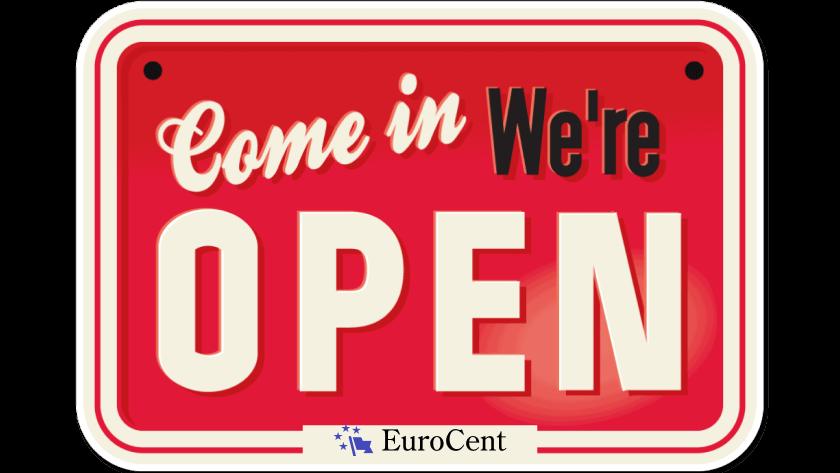 Мы открылись Eurocent