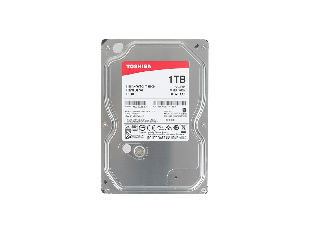 1000 GB HDD