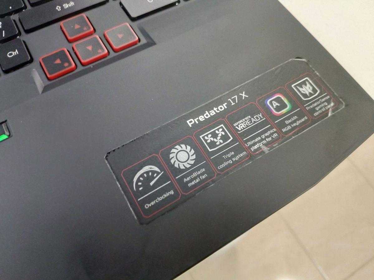 AcerPredator17GX
