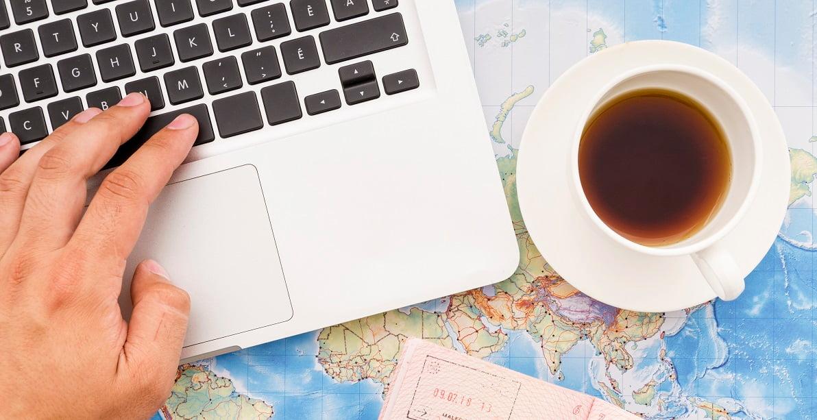 Ноутбук в Путешествии