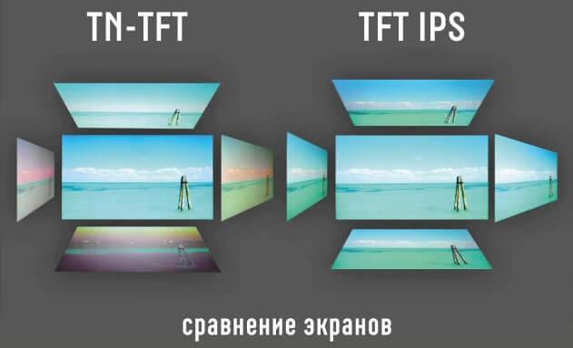 TN или IPS матрица
