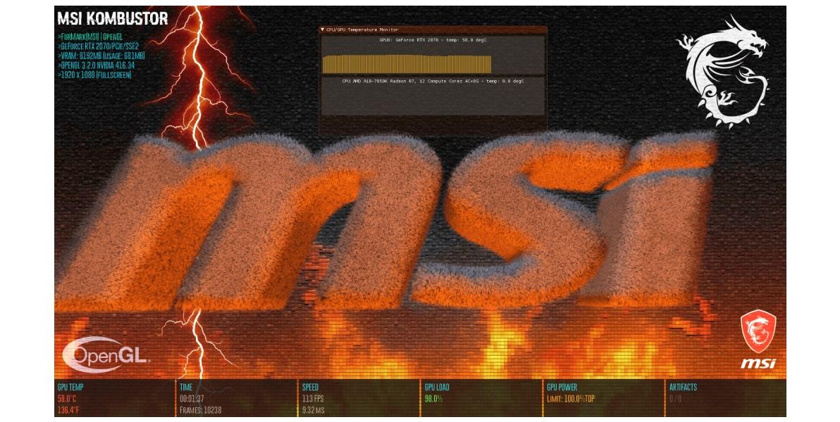 MSI Kombustor