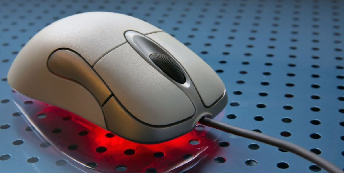 Оптическая светодиодная мышь